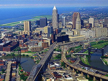 Granite Steel and Processing Cleveland Map